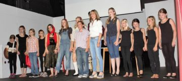 Sommer Abschluss Show im Erthalttheater Aschaffenburg